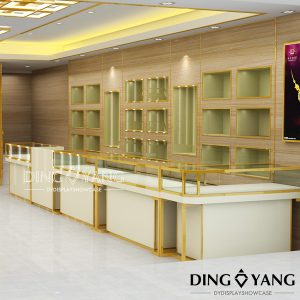 Showcase For Jewellery Shop